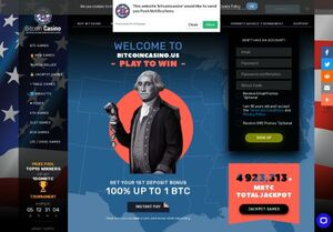 bitcoincasino Magnificent Gambling Slots