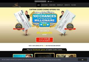 captaincookscasino Attractive Gambling Slots