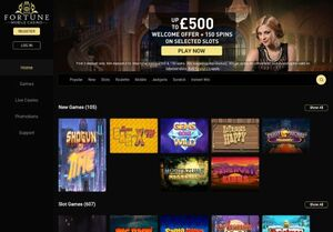 fortunemobilecasino.co Magnificent Gambling Slots