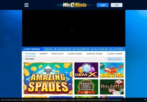 secure.winomania.co Magnificent Gambling Slots