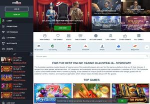 syndicate Magnificent Gambling Slots