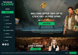 theonlinecasino.co Magnificent Gambling Slots